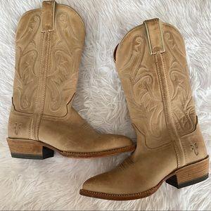 Frye Western Cowboy Boots SZ 7